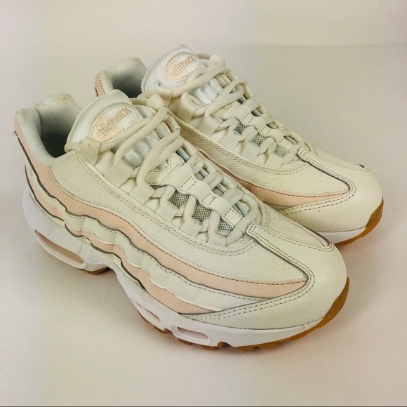 online retailer a18c4 a2fed Nike Air Max 95 Shoes Sail-Guava Ice Pink 6.5
